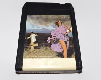 Vintage 8 Track Tape, Captain And Tennille - Dream, 1978, Eight Track, Music, Collectible, Crafting, A & M Records