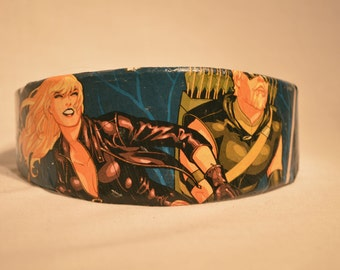 Black Canary and Green Arrow Comic Book Headband