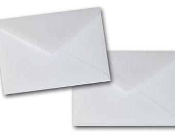 Valentine Card Envelopes - Set of 20 Premium - Bright WHITE Envelopes - Size A1 - 70lb
