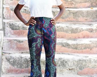 Oldiz Pants | African Prints Pants | Ankara Trouser | Waxi Prints Pants