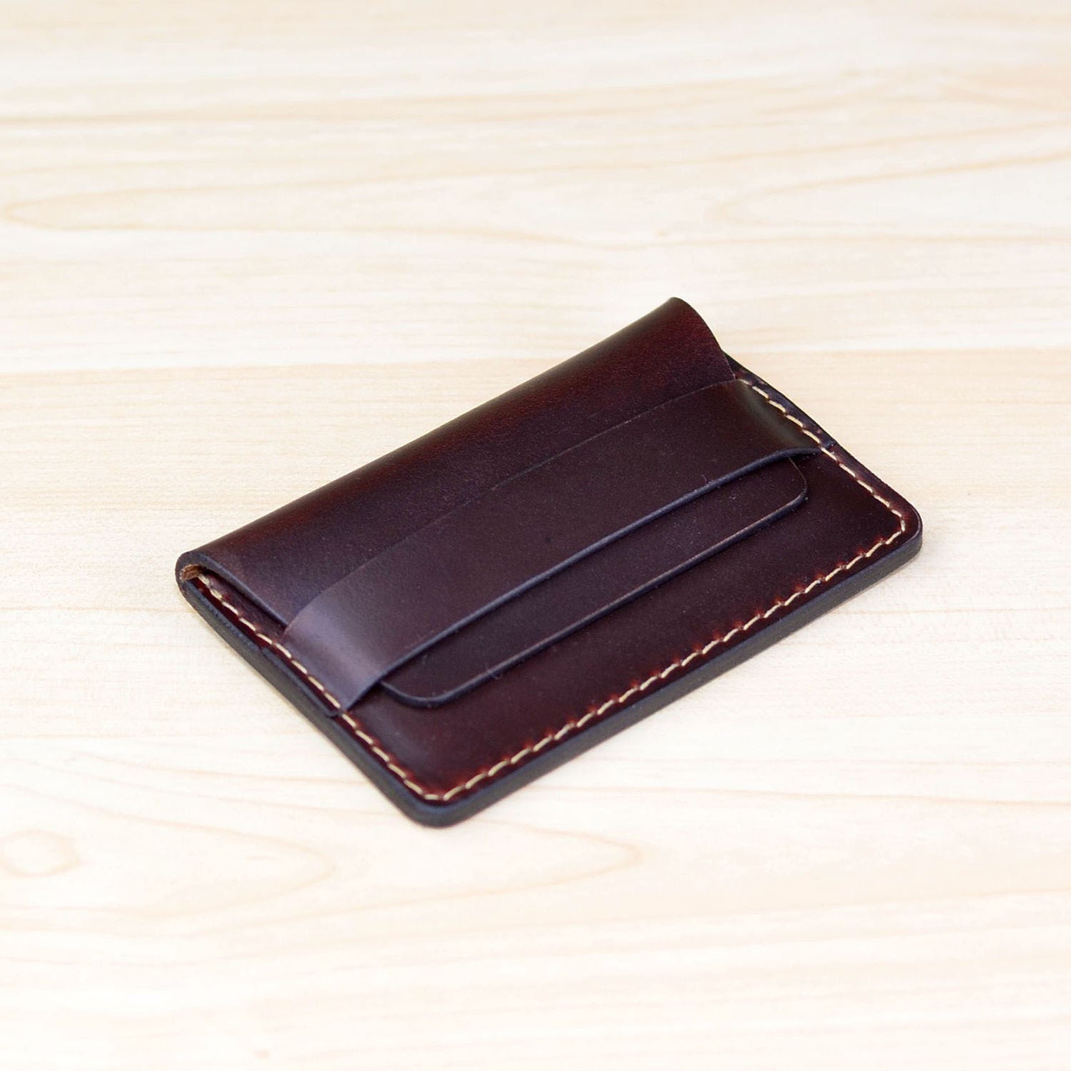 Leather business card holder personalized leather business card leather business card holder personalized leather business card case leather card case horizontal magicingreecefo Gallery