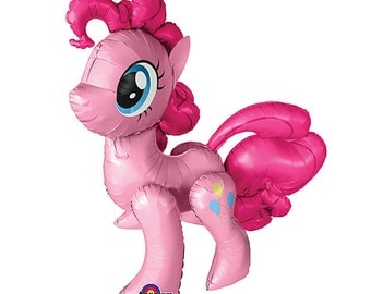 "46"" My Little Pony character, air walker balloon, Pink party decoration, Birthday party for girl"