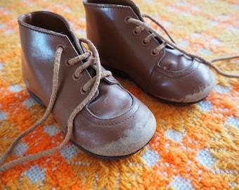 Vintage children's boots 1950s
