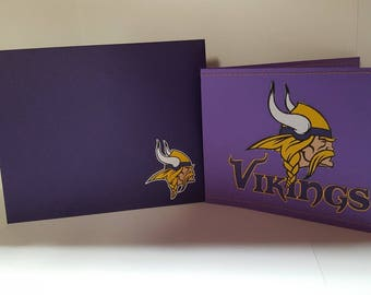 Minnesota Vikings Wallet Card