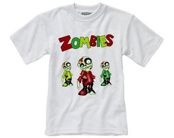 Designed T-Shirt - Zombie - Style 1