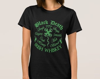 Black Death 777 - Honey Irish Whiskey  S-5XL