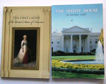 Books, Vintage Books, First Ladies of the United States, White House Historic Guide