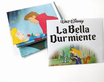 Sleeping Beauty Spanish Envelopes Stationary Set 10