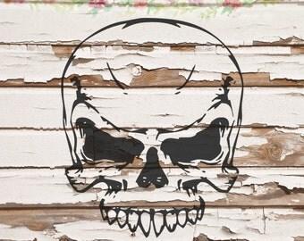 Skull SVG, PNG, DXF files, instant download
