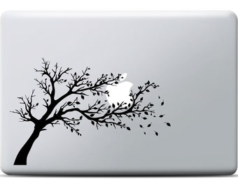 Windy Tree MacBook Sticker