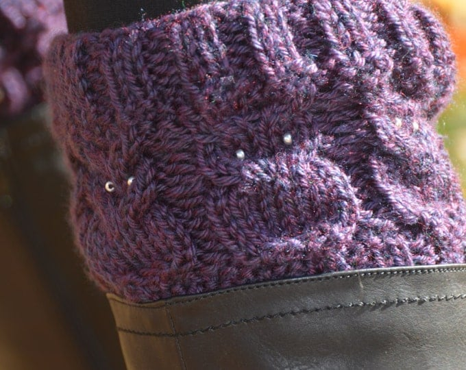 Owl Boot Cuffs - IN STOCK