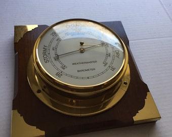 Weather Master barometer