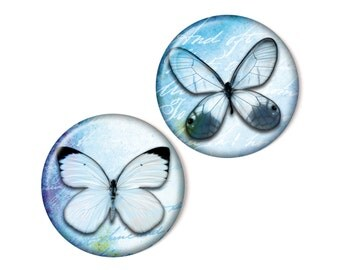 2 magnets, Butterflies