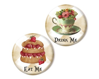 2 magnets, Eat Me - Drink me