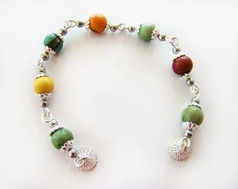 Acai Bead Bracelet, Beaded Bracelets, Chained Bracelets, Acai Beaded Bracelets, Handmade Bracelets, Bead Bracelet, Acai Jewelry