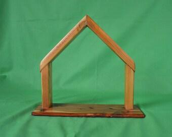 Creche, Nativity Set Creche, Creche, Stable, Christmas Creche, Solid Wood Creche, Manger, Reclaimed Wood Creche, JJ Ladell's