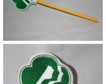 Girl Scout Pencil Topper