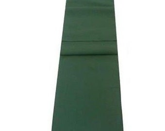 Forest Green Table Runner Linen Cotton Feel / Poly Mix