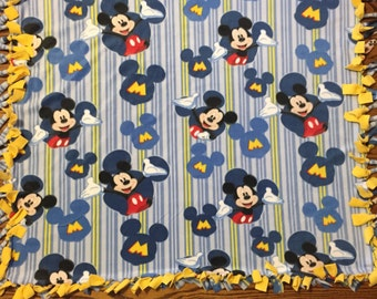 Black And White Fitted Crib Sheet Mickey Mouse Baby Toddler