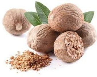 Nutmeg Whole 1 OZ  Great For Cooking Grind Your Own
