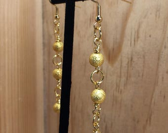 Gold Plated/Gold Tone Drop Earrings