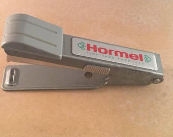 Vintage ADVERTISING Bostitch Stapler (B8) HORMEL MINNESOTA Estate Item