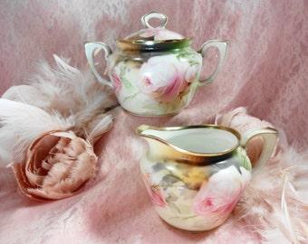 Cream and Sugar Pink Roses