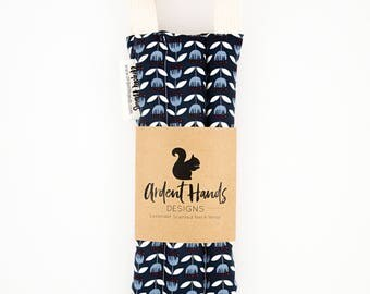 Neck Wrap, Hot Pack, Ice Pack, Blue Tulip