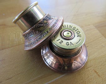 Custom Remington Right to bear arms guitar knobs