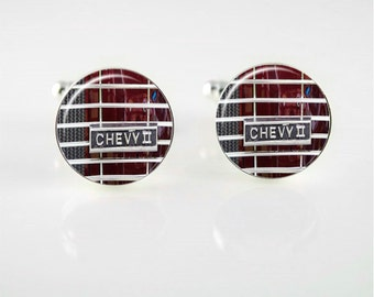 Vintage Chevy 2 Cuff Links