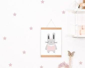 Wall decals / wall sticker 42 Star Pink