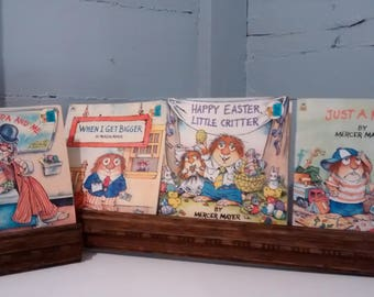 Books, Childrens Books, Mercer Mayer, Kids Books, Used, Set of Four