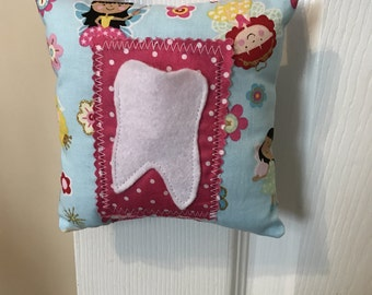 Tooth Fairy Pillow, Girls Tooth Fairy Pillow, princess tooth fairy pillow