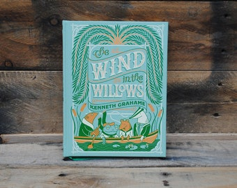 Book Safe - The Wind in the Willows - Leather Bound Hollow Book Safe