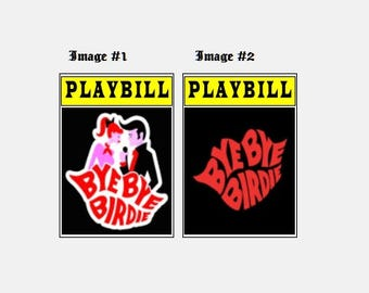 Theater / Show Charm - Playbill Play Bill - Bye Bye Birdie