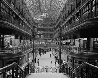 The Arcade in Cleveland, Ohio, 1966, Beautiful Building Architecture