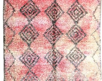 Vintage Moroccan Boujad Rug