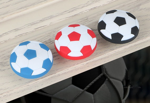 Football Knobs Children Room Hardware Accessories - Soft Rubber ...