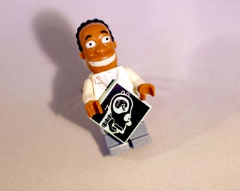Adjustable Lego ring of Simpsons character Dr Hibbert