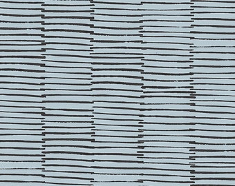 Lines in Grey- Maker Maker by Sarah Golden- Linen Cotton Blend