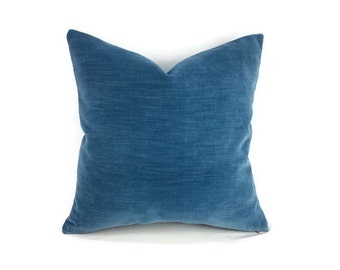 """16"""" x 16"""" Lee Jofa Seabreeze in the color Aegean Pillow Cover"""