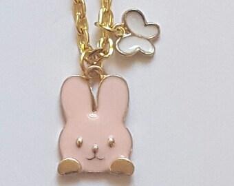 Bunny Necklace Bunny Jewelry