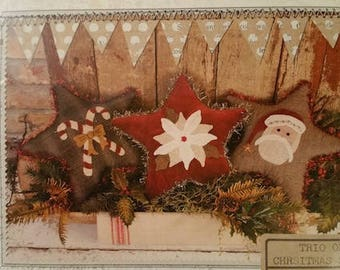 Pattern: Trio of Christmas Stars by Buttermilk Basin