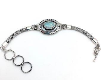 Opal Bali Statement Bracelet