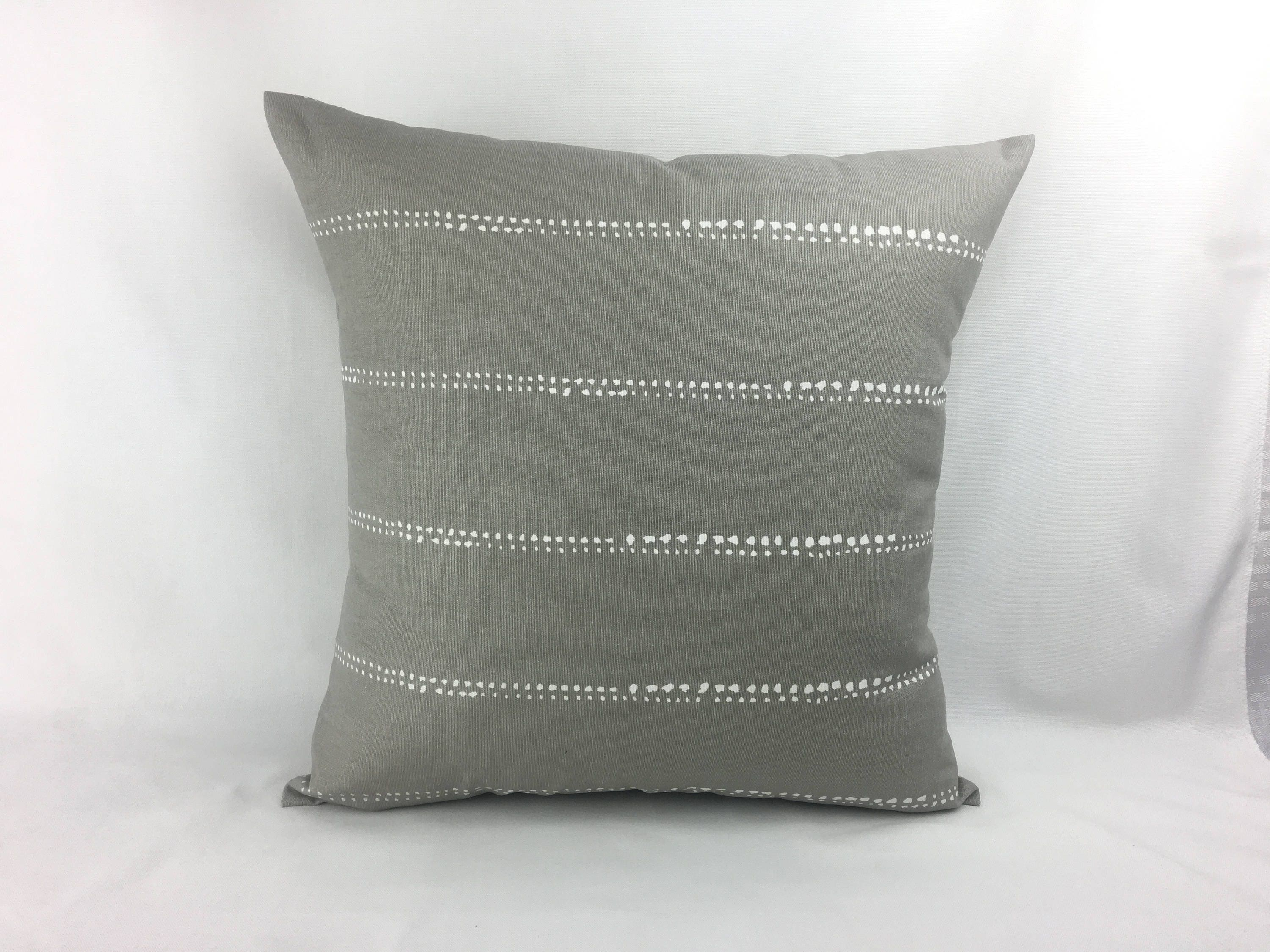 grey pillow covers grey and white throw pillows decorative. Black Bedroom Furniture Sets. Home Design Ideas
