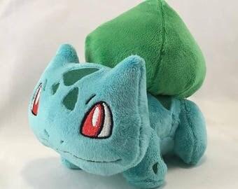 Pokemon Inspired Custom Bulbasaur Plush
