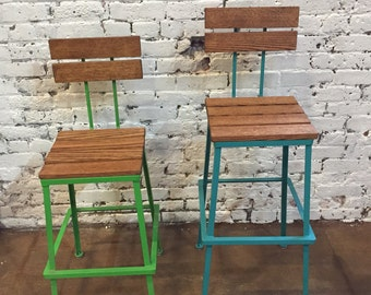 The Nantucket Bar stool, Bar stools, bar stools, kitchen stool, counter height stool, industrial bar stool, commercial bar stool