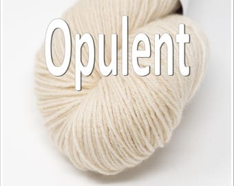Opulent Fingering Weight in your choice of colors