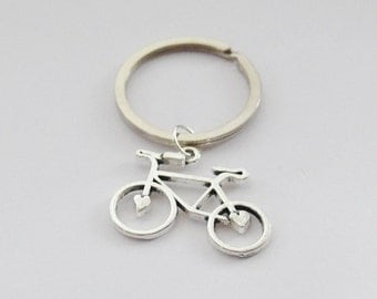 Gifts for Girls, Gifts Under 20, Cyclist Keychain, Bike Gifts, Cyclist Accessoriesn Bike Key ring, Bicycle Keychain, Bike Accessories
