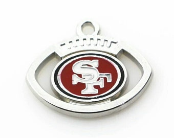 San Francisco 49ers charm- QTY: 1